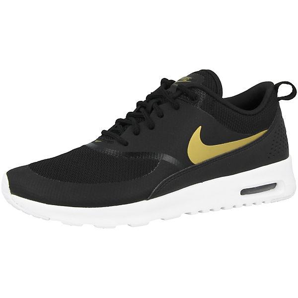 J Sportswear schwarz Nike Sneakers Thea Max Air Low d46FAqIFw