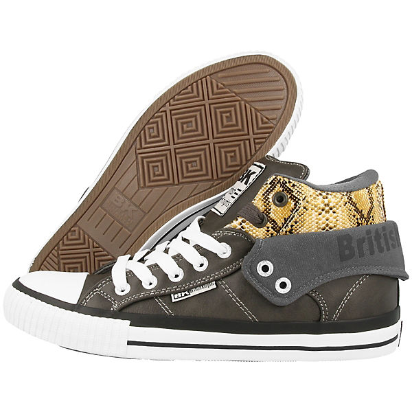 British Knights, Gute Roco BK Sneakers High, grau  Gute Knights, Qualität beliebte Schuhe c3f67c