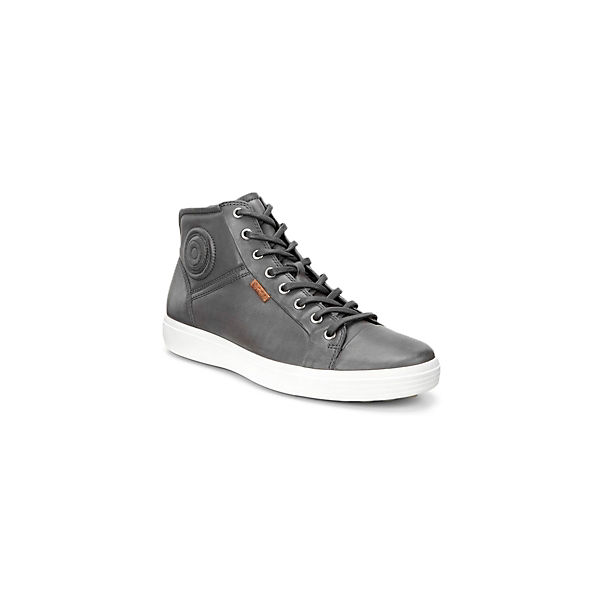 grau 7 ecco Sneakers High Mid Soft Oqwza