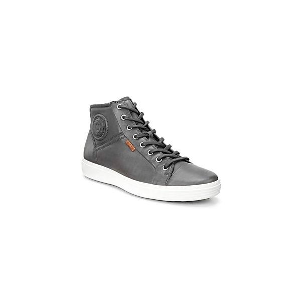 ecco 7 grau High Mid Soft Sneakers rwx5Cq7rp