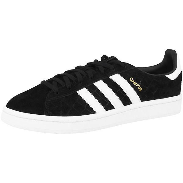 Sneakers adidas Originals Low Campus schwarz wqESqZR7