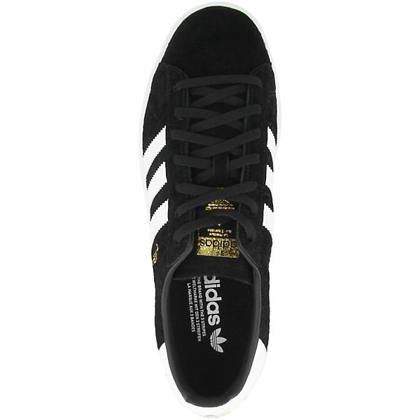 adidas Low schwarz Sneakers Campus Originals gwqUrgf