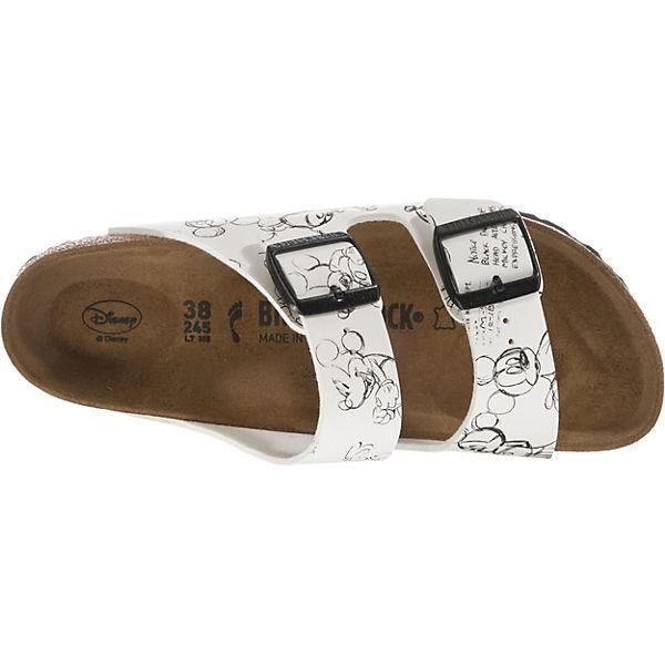 BIRKENSTOCK, Arizona 1 schmal Pantoletten, weiß Modell 1 Arizona  Gute Qualität beliebte Schuhe c09606