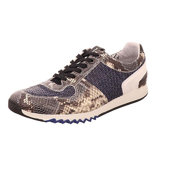 dunkelblau Sneakers van Floris Bommel Low wwA4SZnq