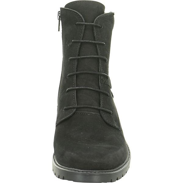 Longo, Schnürstiefeletten, schwarz  Gute Qualität beliebte Schuhe