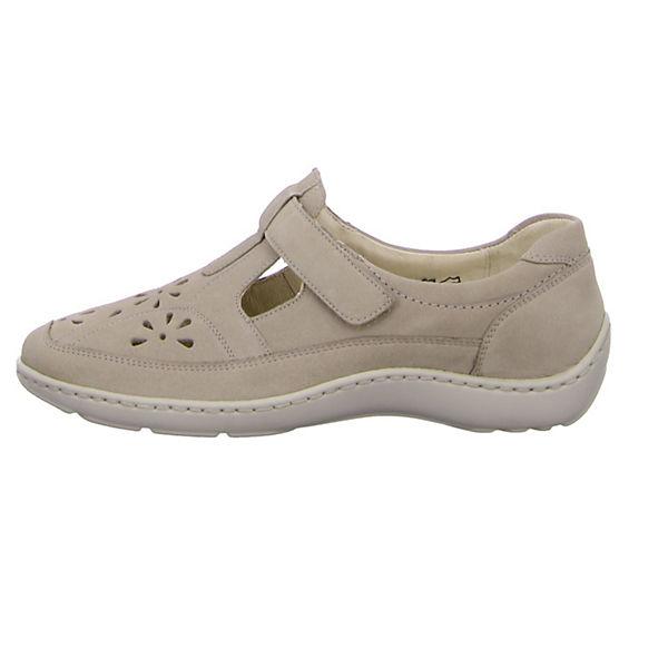 WALDLÄUFER, Offene Halbschuhe, grau  Gute Qualität beliebte Schuhe