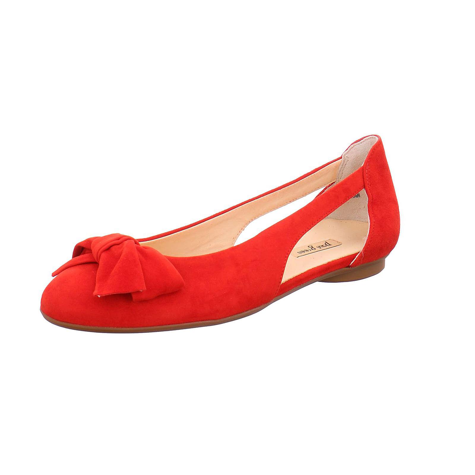 Paul Green Klassische Ballerinas rot Damen Gr. 41