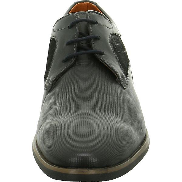 bugatti, Schnürschuhe, schwarz  Gute Qualität beliebte Schuhe
