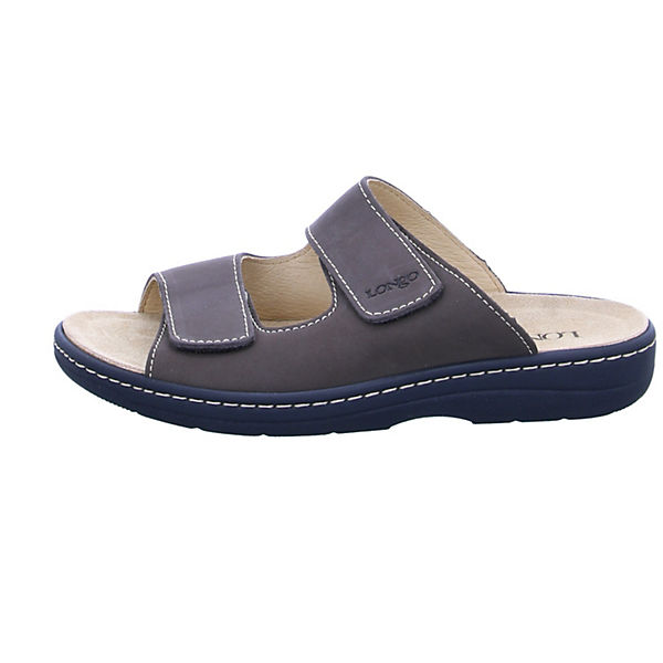 Longo, Pantoletten, braun  Gute Qualität beliebte Schuhe