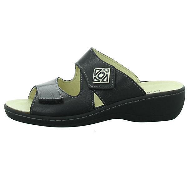 Longo, Qualität Pantoletten, schwarz  Gute Qualität Longo, beliebte Schuhe 76b320