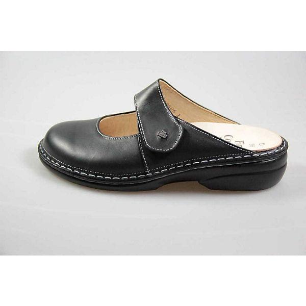 Finn Comfort, Pantoletten, schwarz  Gute Qualität beliebte Schuhe