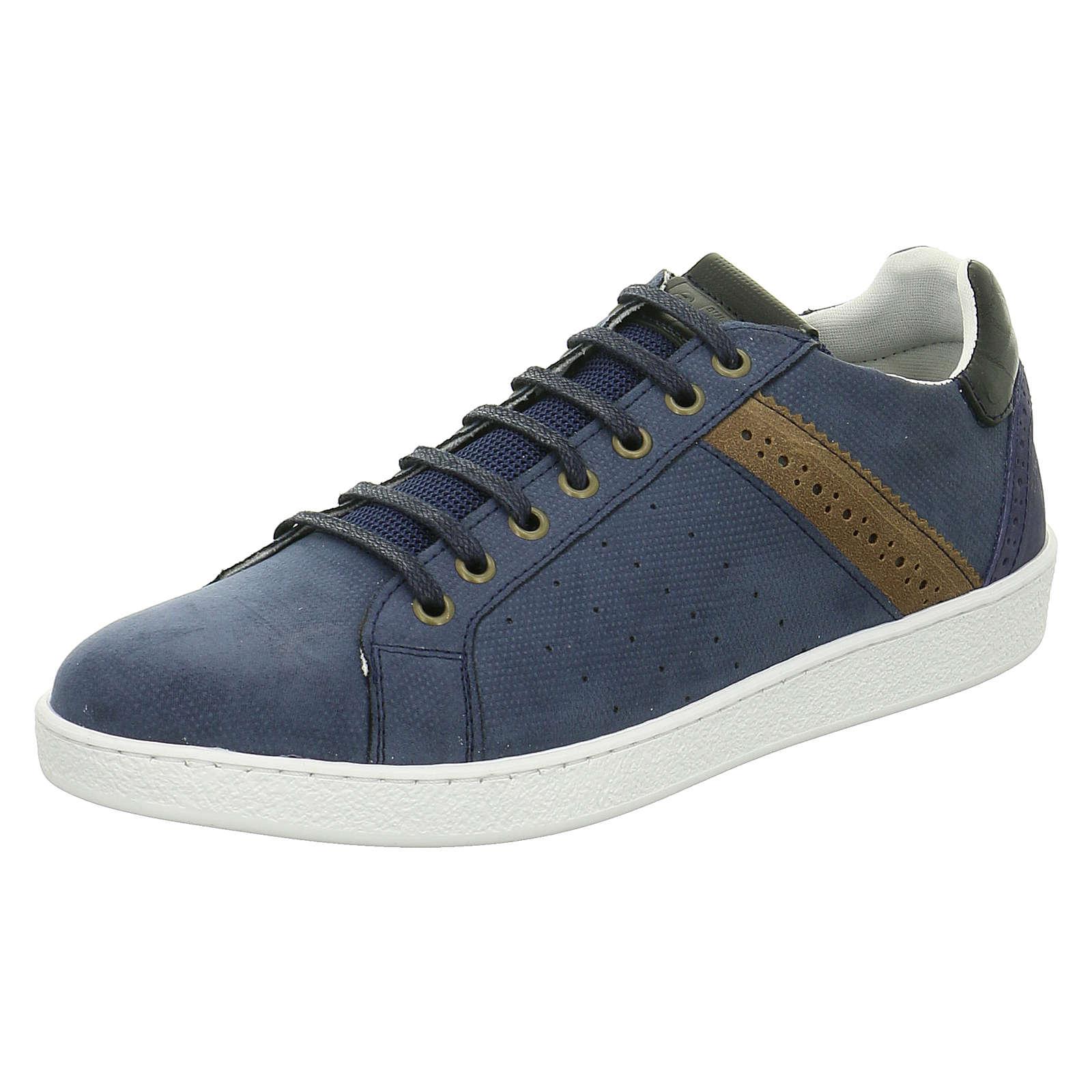 bullboxer sneakers low blau g nstig schnell einkaufen. Black Bedroom Furniture Sets. Home Design Ideas