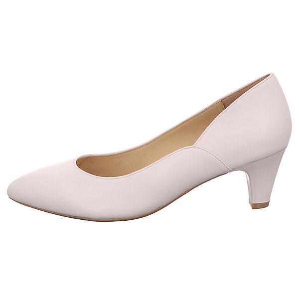 CAPRICE, Klassische Pumps, weiß weiß weiß  Gute Qualität beliebte Schuhe e840e7