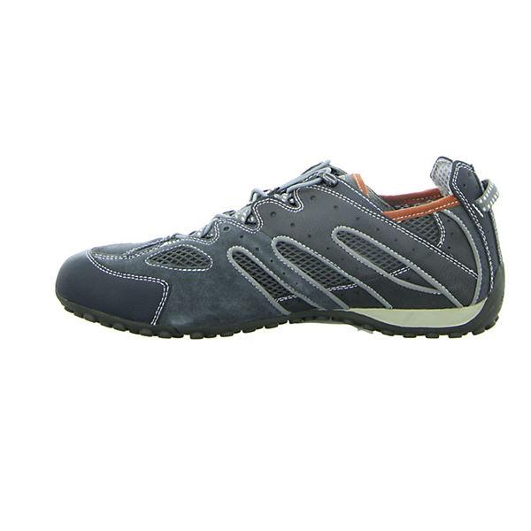 GEOX Sportliche Halbschuhe schwarz  Gute Qualität beliebte Schuhe