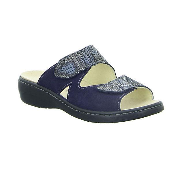 Longo, Pantoletten, blau  beliebte Gute Qualität beliebte  Schuhe d5400e