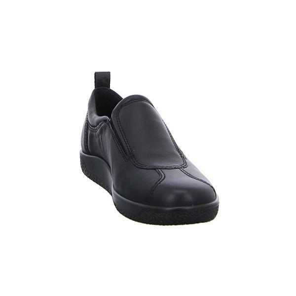 ecco Klassische Klassische Slipper ecco Slipper schwarz schwarz 6RxqPB4E