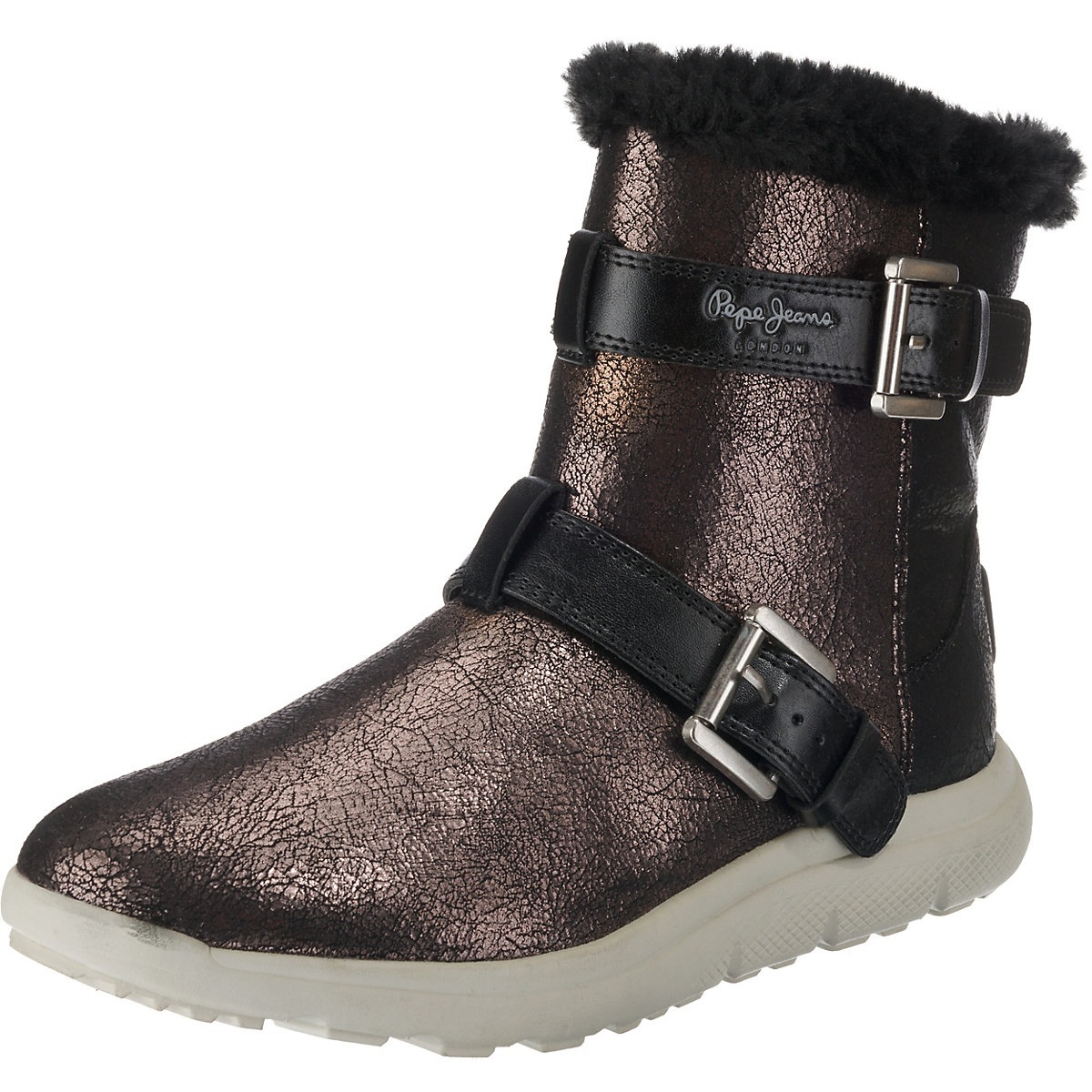Pepe Jeans, HYKE W SNOW Winterstiefeletten, dunkelgrau  Gute Qualität beliebte Schuhe