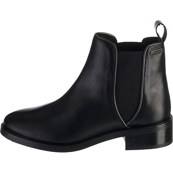 Pepe Jeans, DEVON BASIC Chelsea  Boots, schwarz   Chelsea db993b