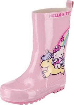 Hello Kitty, Hello Kitty Gummistiefel für Mädchen, rosa