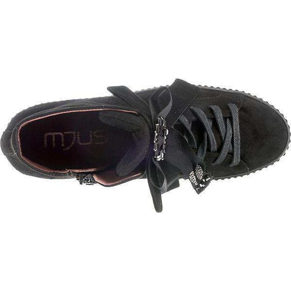 MJUS, Sneakers High, High, Sneakers schwarz   e570f4