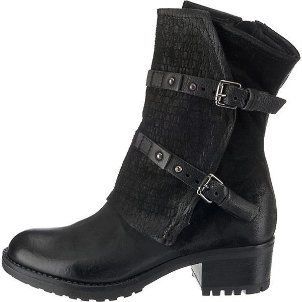MJUS, Klassische Stiefeletten, schwarz schwarz Stiefeletten,   fc66d1