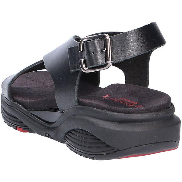 Klassische Klassische Xsensible Xsensible schwarz Sandalen schwarz Xsensible Sandalen qCaztO