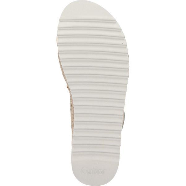 Gabor, Klassische Sandalen, silber  Gute Qualität beliebte Schuhe Schuhe beliebte a006d0