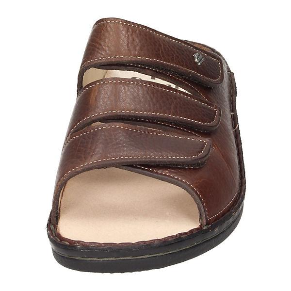 Finn Komfort Komfort Pantoletten Comfort Comfort Pantoletten braun Finn RxRSqrWnP