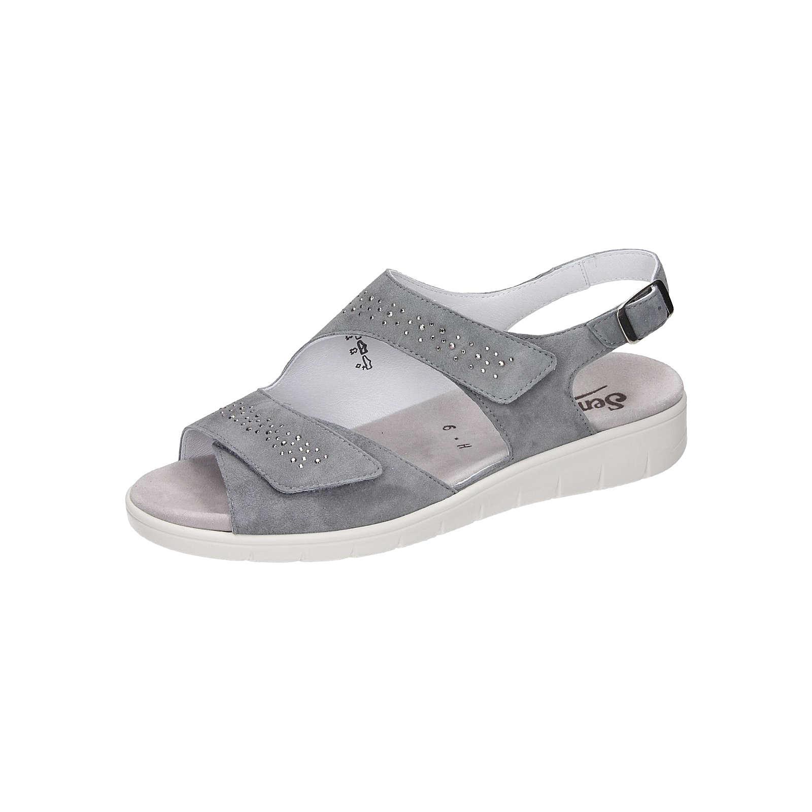 semler klassische sandalen blau grau g nstig schnell einkaufen. Black Bedroom Furniture Sets. Home Design Ideas