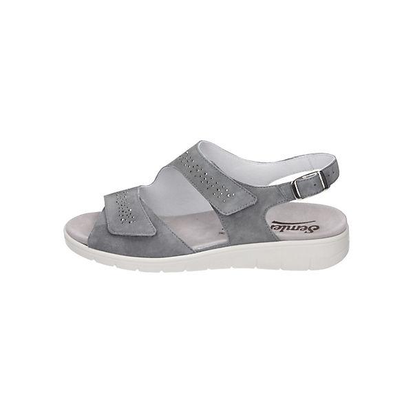 Semler, Klassische Sandalen, blau/grau Schuhe  Gute Qualität beliebte Schuhe blau/grau 46aed9