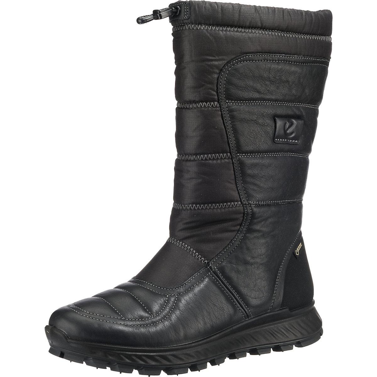 Ecco, EXOSTRIKE Ladies Winterstiefel, schwarz  Gute Qualität beliebte Schuhe