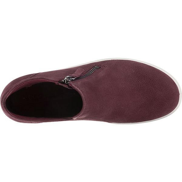 ecco, Soft Slip-On-Sneaker, 7 L  Slip-On-Sneaker, Soft weinrot   27c103
