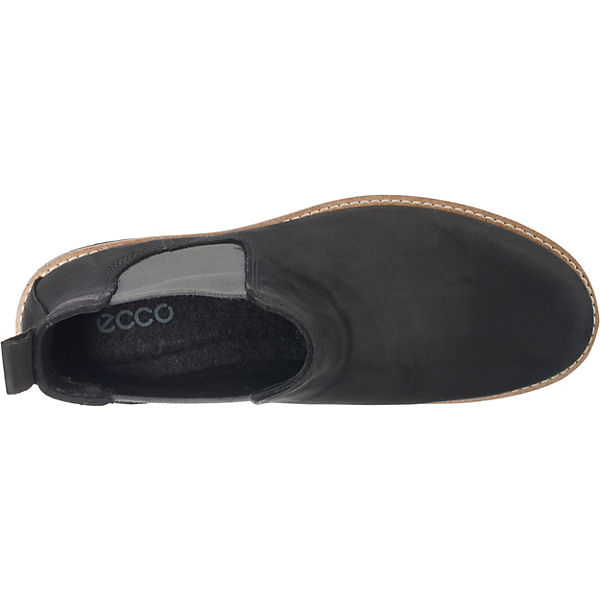 Elaine Chelsea ecco grau Boots schwarz wFqU8q