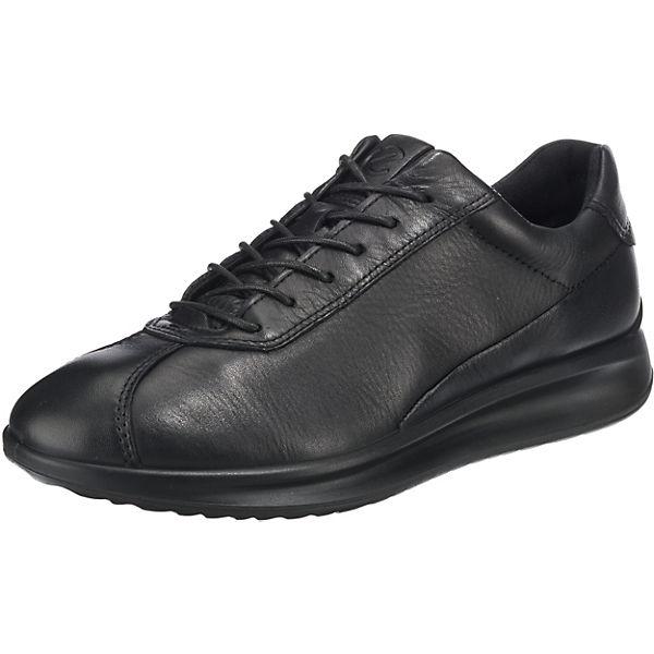 new products 52d49 d7329 ecco, ECCO AQUET Sneakers Low, schwarz