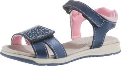 lamino, Sandalen für Mädchen, blau