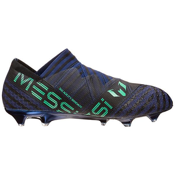 adidas  Performance, Nemeziz Messi 17+ 360Agility FG Fußballschuhe, blau/grün  adidas Gute Qualität beliebte Schuhe 154094