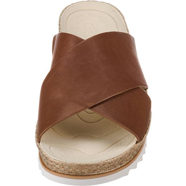 Gabor Pantoletten cognac  Gute Qualität beliebte beliebte beliebte Schuhe aaaf65