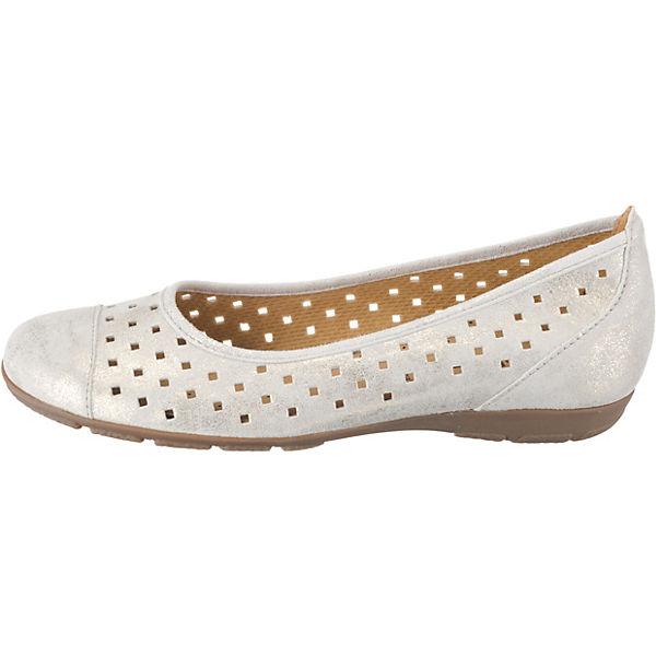 Gabor,  Klassische Ballerinas, weiß  Gabor, Gute Qualität beliebte Schuhe 53050c