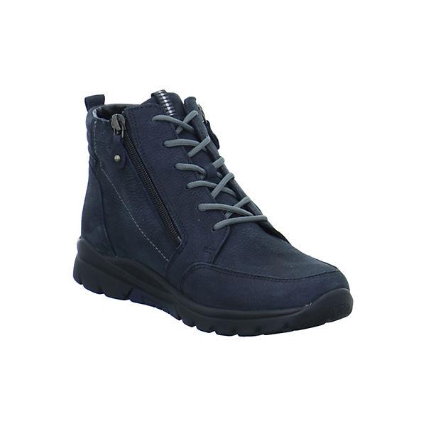 WALDLÄUFER, Harukaetten Schnürstiefeletten, blau  Gute Qualität beliebte Schuhe