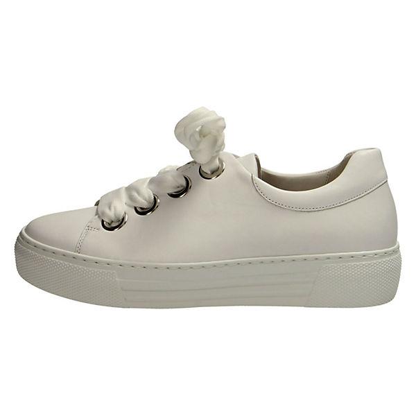 Gabor, Sneakers Low, weiß  Gute Qualität beliebte Schuhe