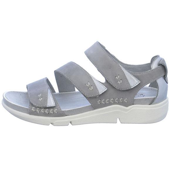 Jana, Komfort-Sandalen, grau     64bb05