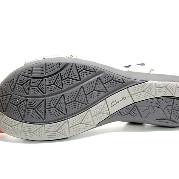 Clarks, Klassische Sandalen, grau     945a1b