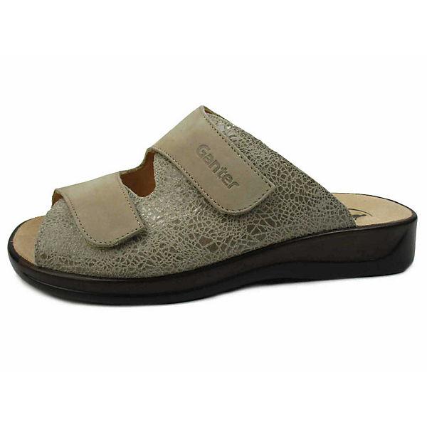 Ganter, Qualität Pantoletten, beige  Gute Qualität Ganter, beliebte Schuhe 315fae
