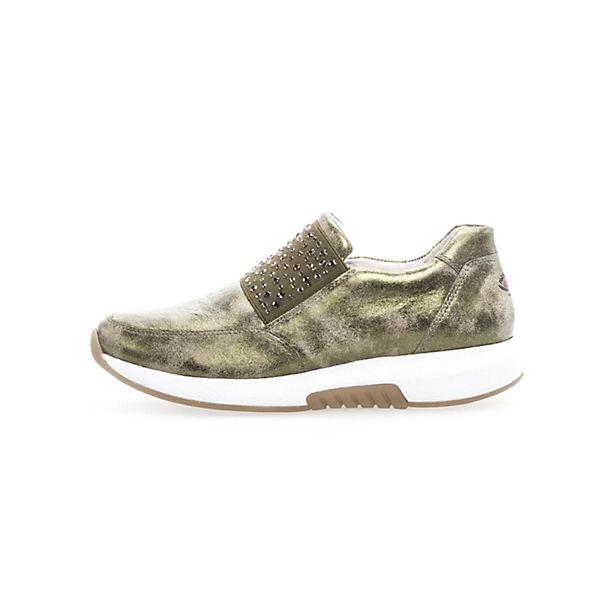 Gabor, Klassische Slipper, grün  Gute Qualität beliebte Schuhe