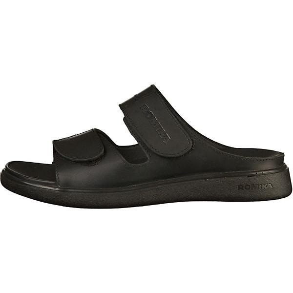 ROMIKA, Pantoletten, beliebte schwarz  Gute Qualität beliebte Pantoletten, Schuhe 309a8b