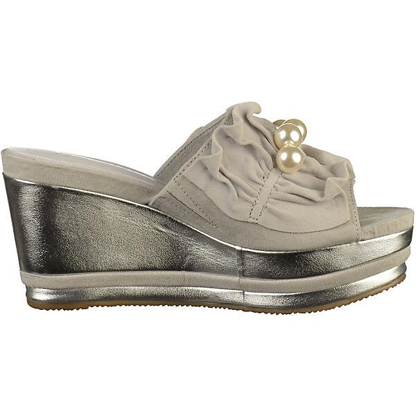 Tamaris, Pantoletten, hellgrau  Gute Schuhe Qualität beliebte Schuhe Gute 569e89