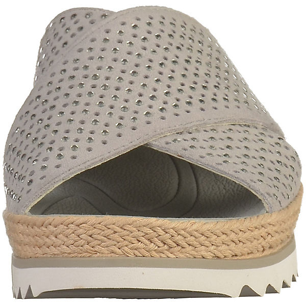 Gabor,  Pantoletten, grau  Gabor, Gute Qualität beliebte Schuhe 06ba1b