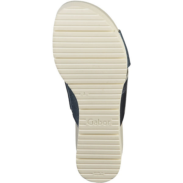 Gabor,  Pantoletten, blue denim  Gabor, Gute Qualität beliebte Schuhe ded3aa