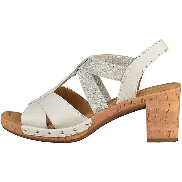 Gabor Klassische Sandaletten weiß  Gute Qualität beliebte Schuhe