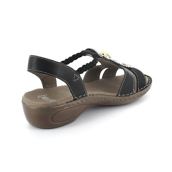 ara, Klassische Sandaletten, schwarz beliebte  Gute Qualität beliebte schwarz Schuhe 8d54d4